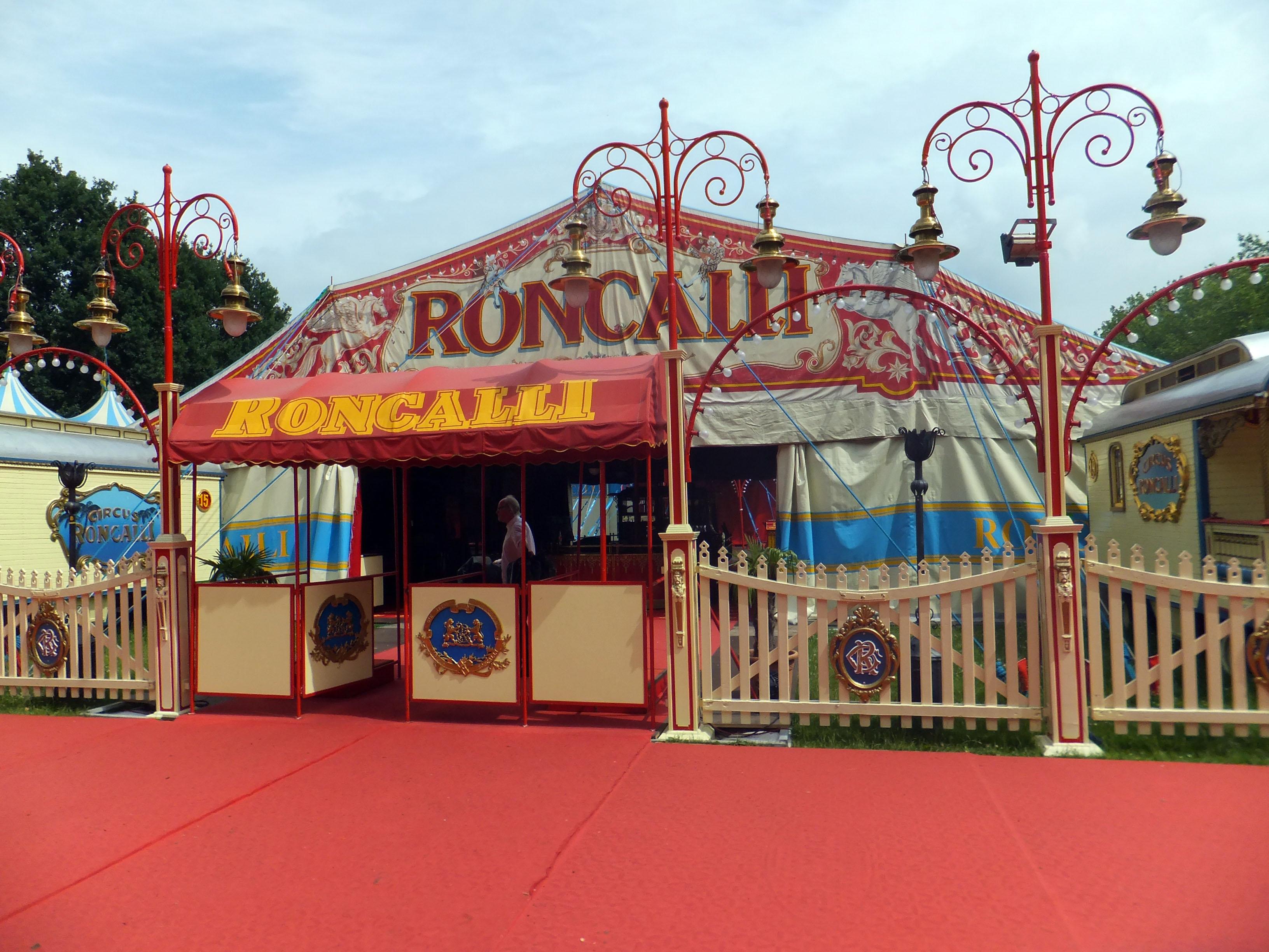 Hufschmiedeeinsatz beim Zirkus Roncalli